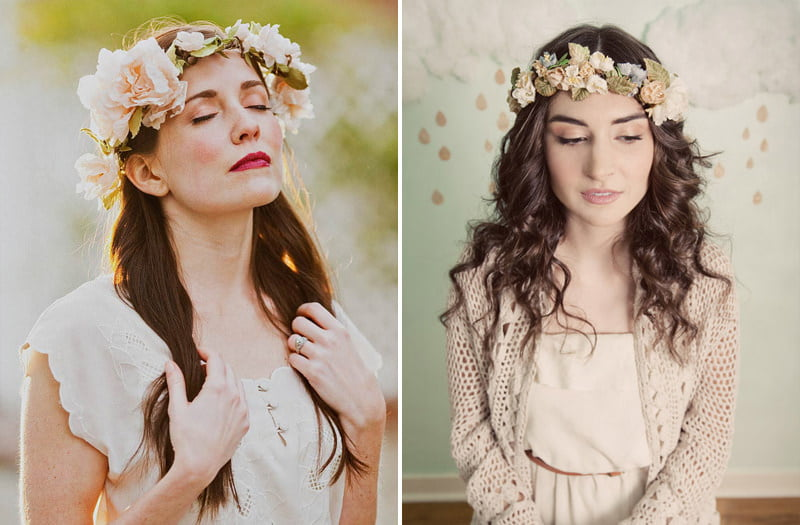 Bohemian Brides  Whimsical Flower Crowns – Maureen Du Preez Photography f6aa0298f34