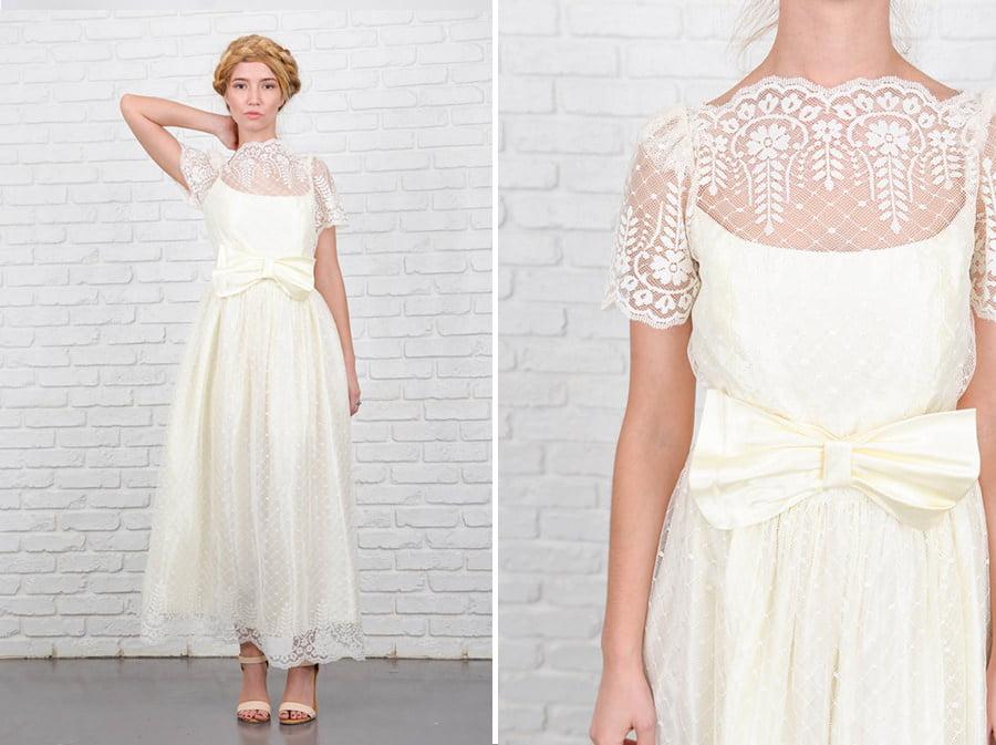 Bohemian Brides: Beautiful Vintage Wedding Dresses