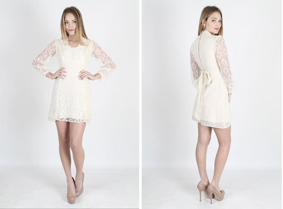 bohemian-70s-sheer-cream-vintage-wedding-dress-etsy-budget