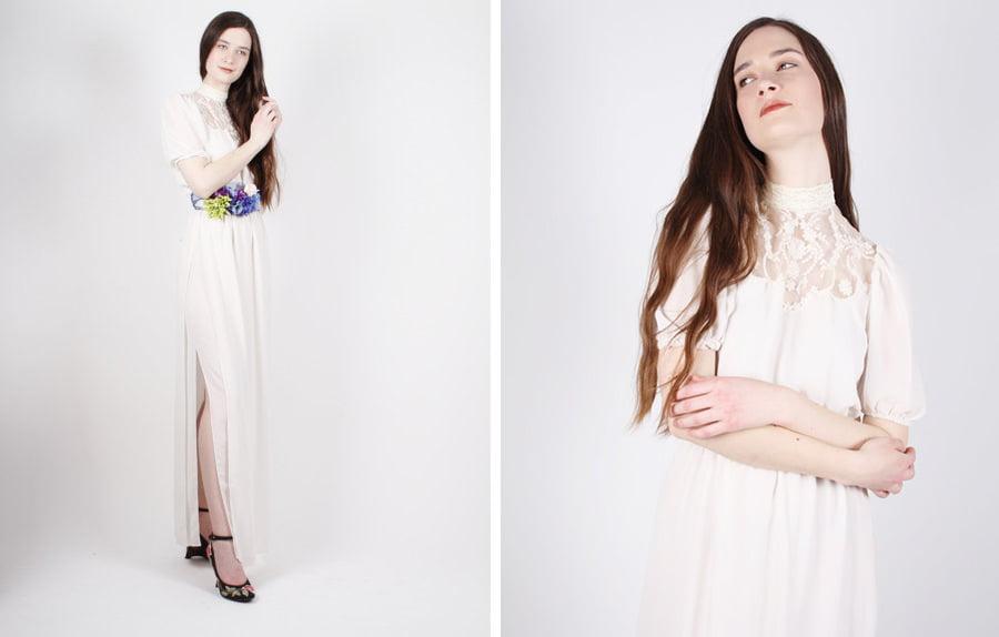 bohemian-70s-vintage-wedding-dress-etsy