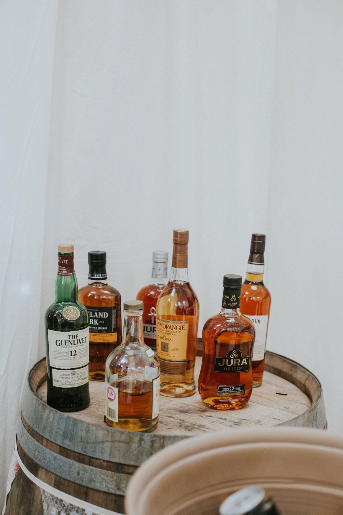 DIY whisky bar south uist wedding photographer