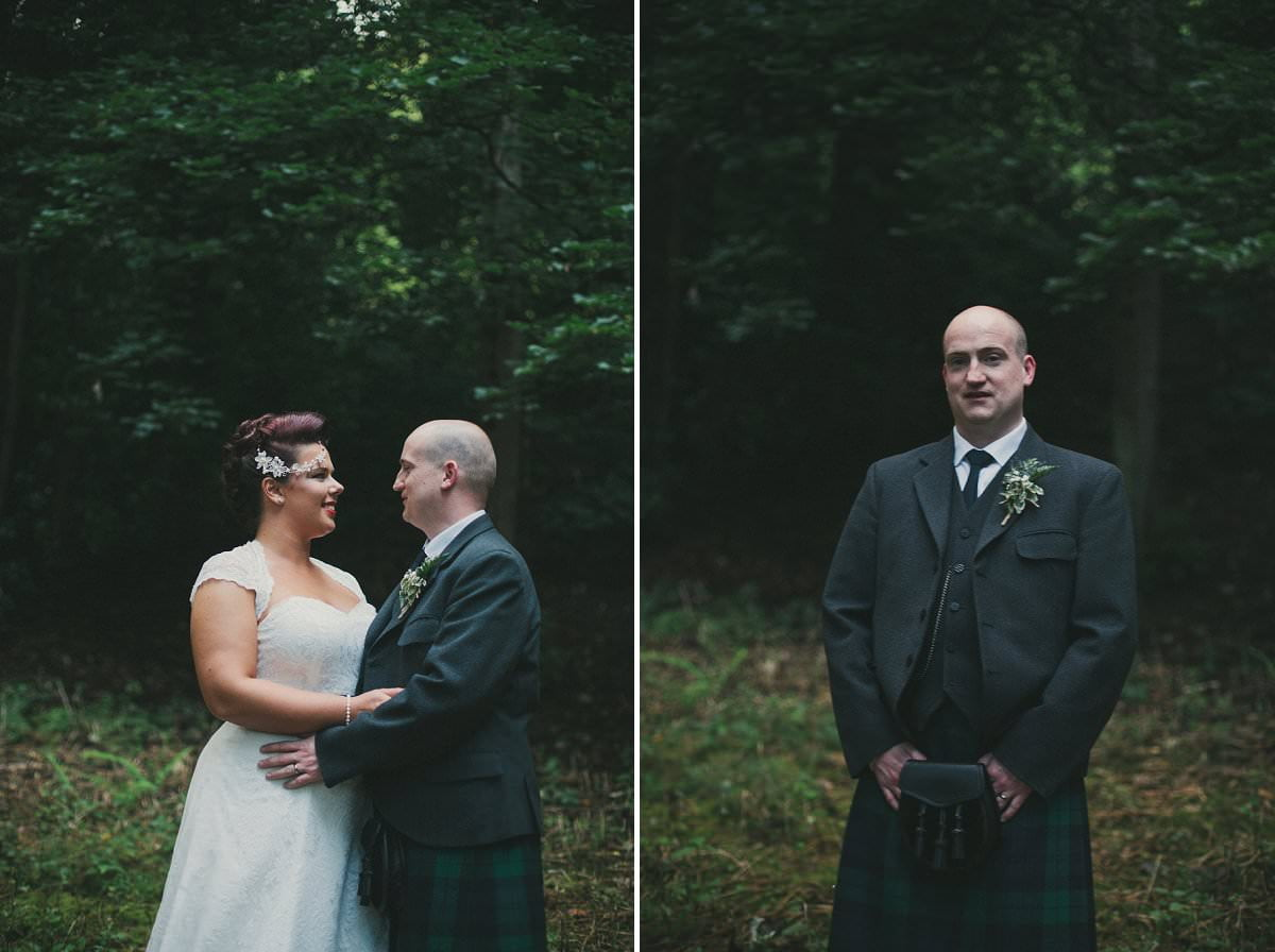 bride groom stirling wedding photographer