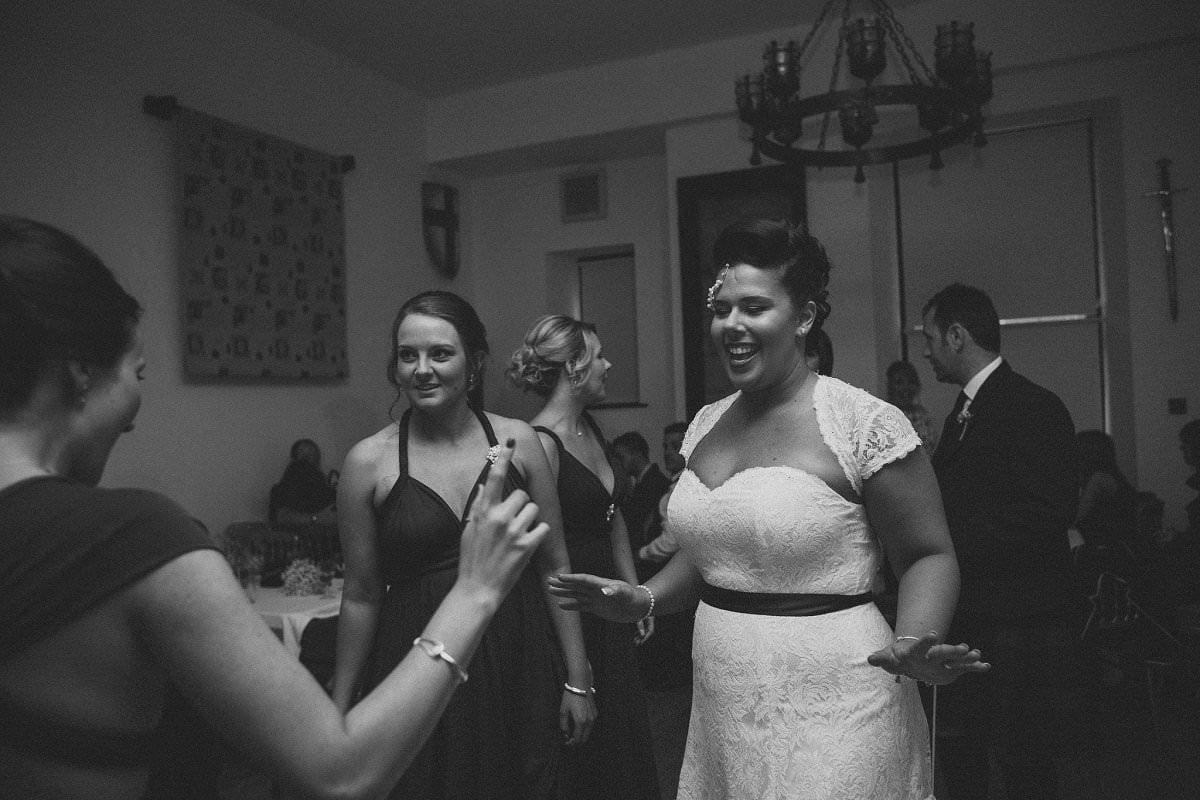 bride dancing stirling wedding photographer