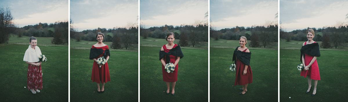 bridesmaids oxenfoord castle wedding photographer