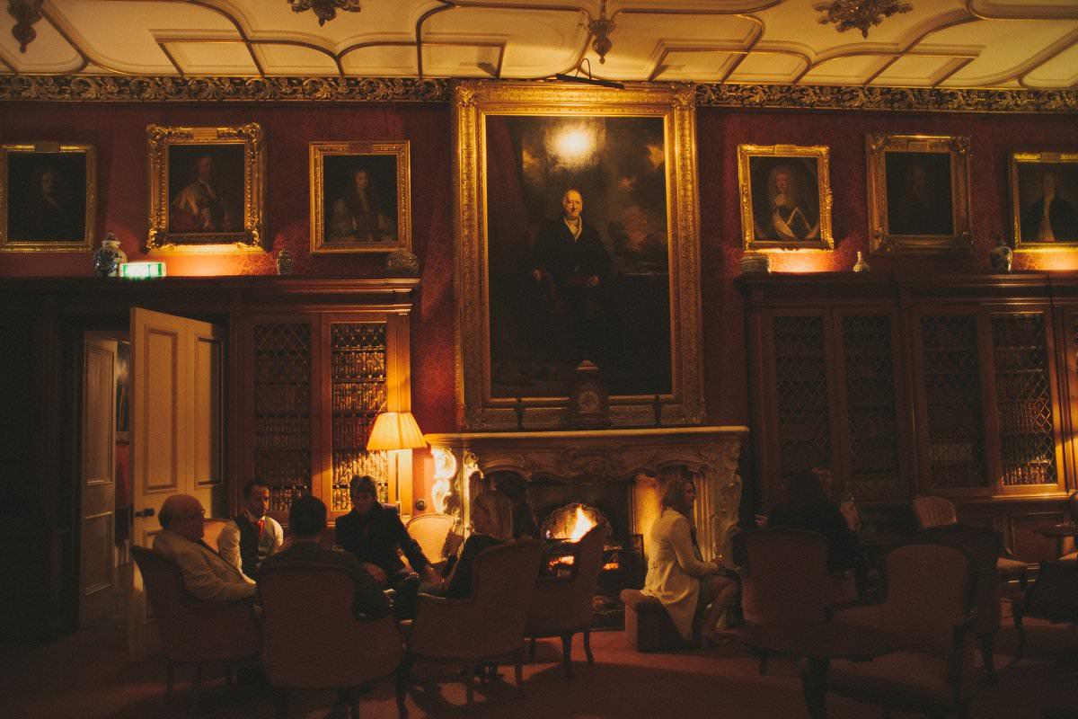 oxenfoord castle wedding reception
