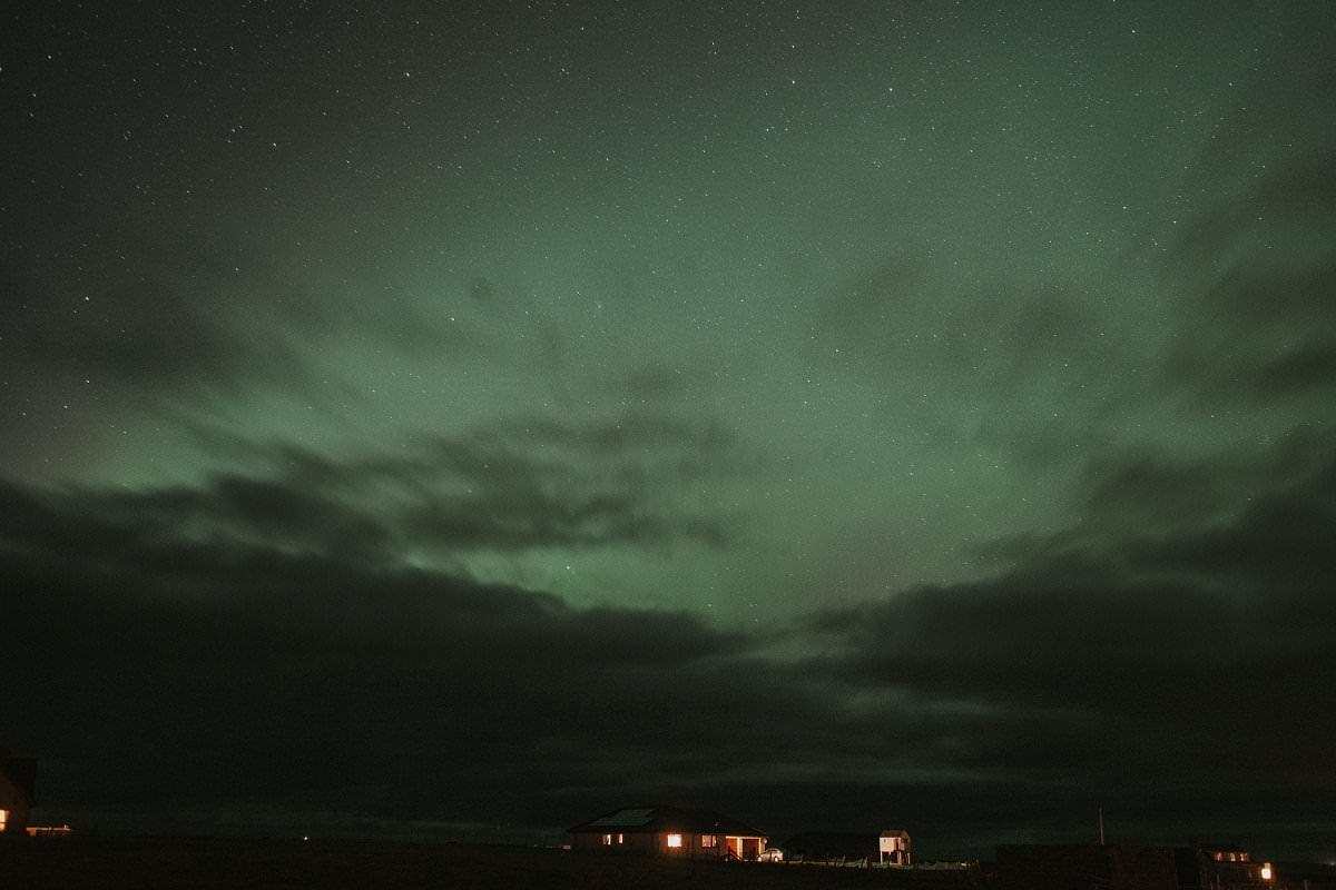 aurora northern lights outer hebrides benbecula