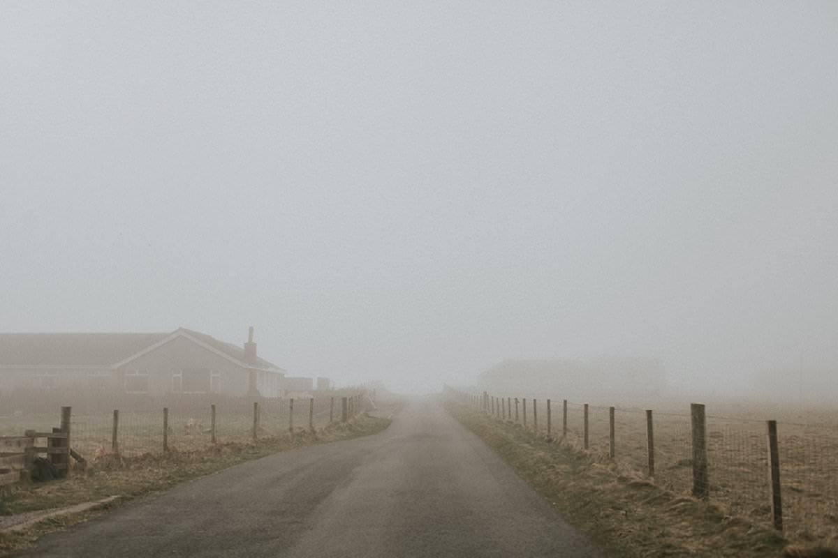 fog isle of benbecula western isles