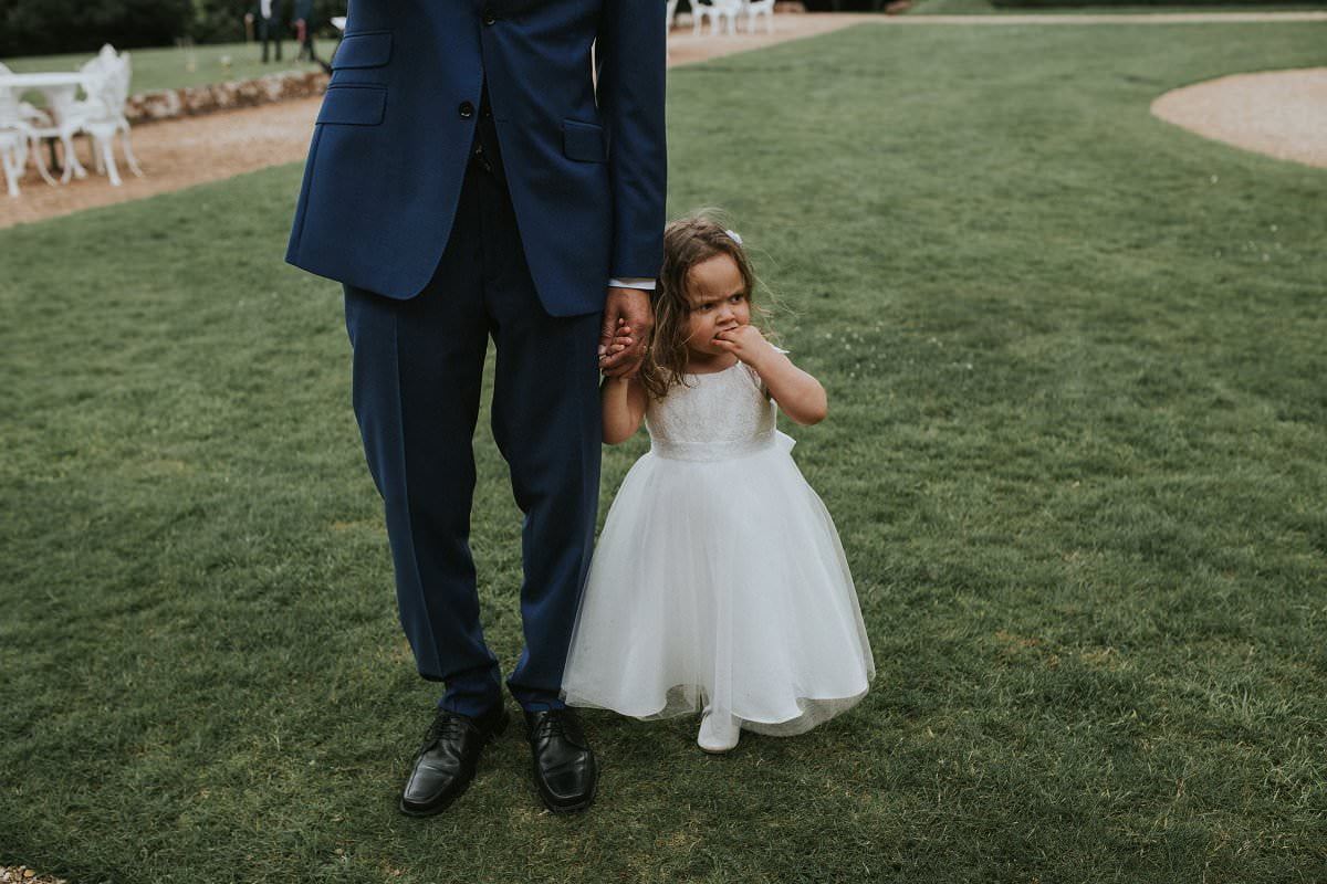 cute flower girl wedding