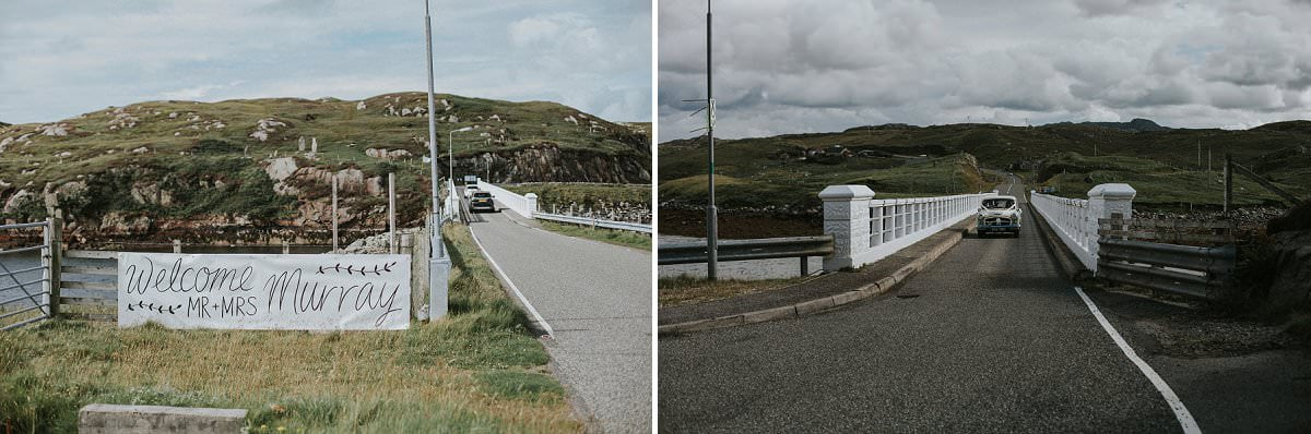 great bernera bridge wedding