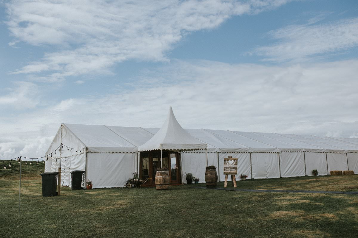 north of scotland marquee wedding