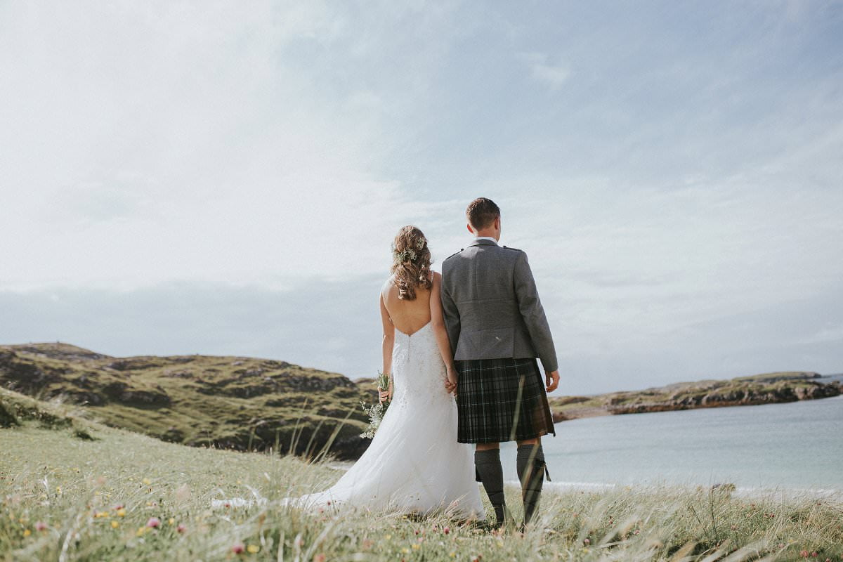 great bernera wedding photography