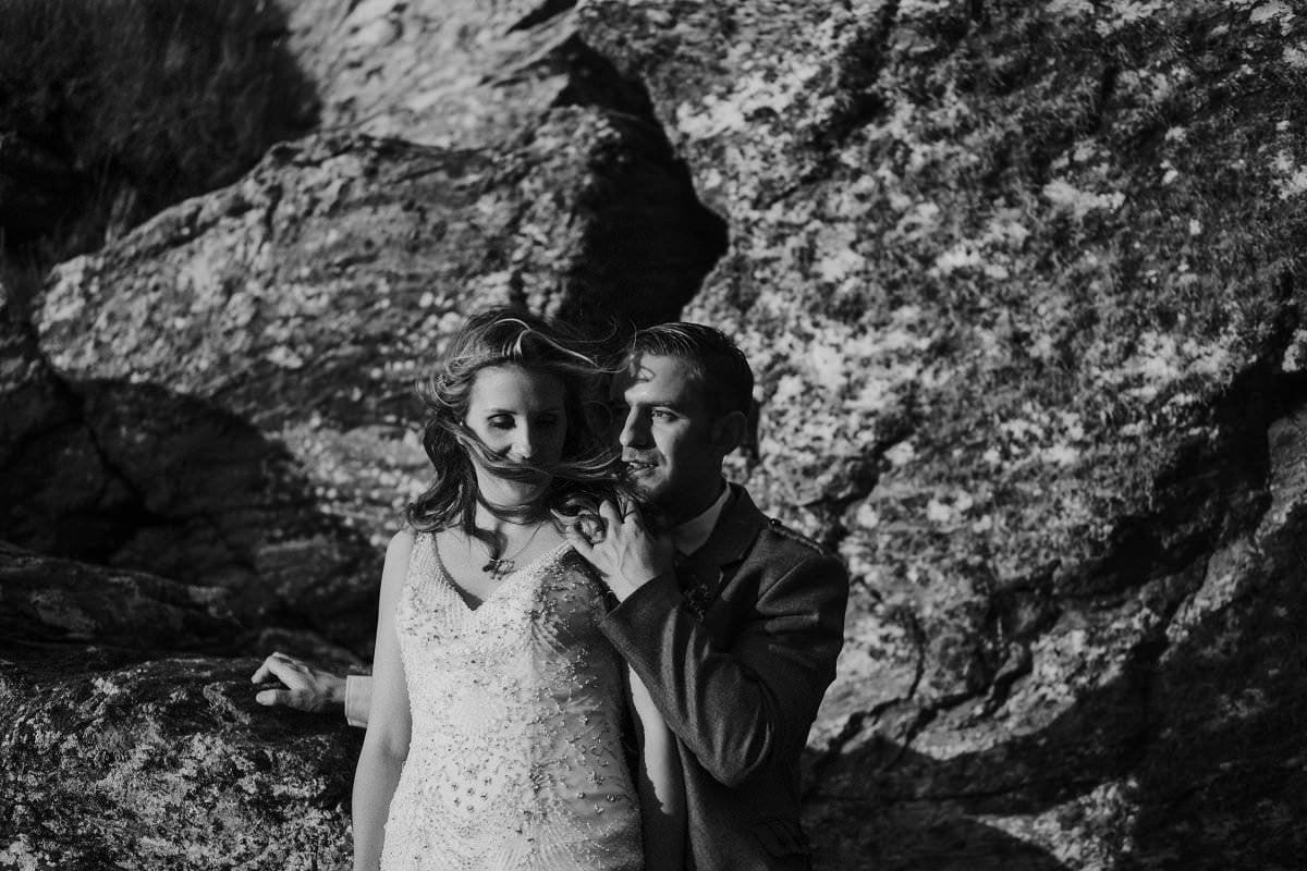 emotional isle of lewis wedding photography