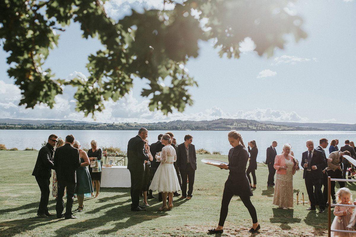drink ceremony wedding loch