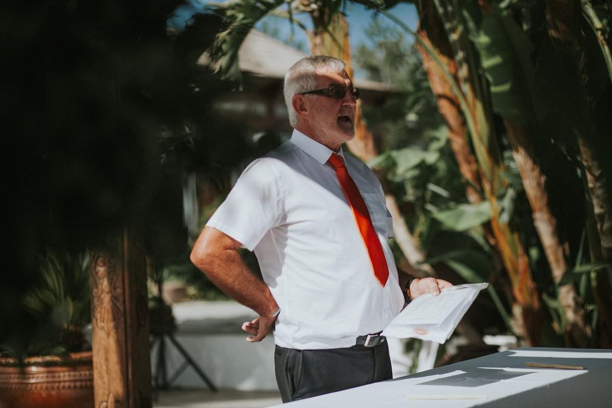 destination wedding speech