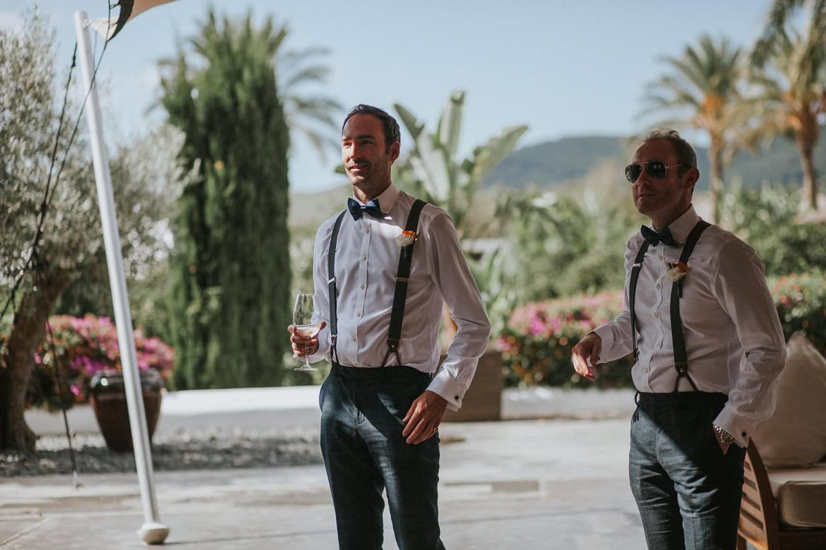 braces bowtie groomsmen