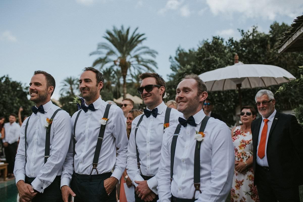 hipster groomsmen bowtie