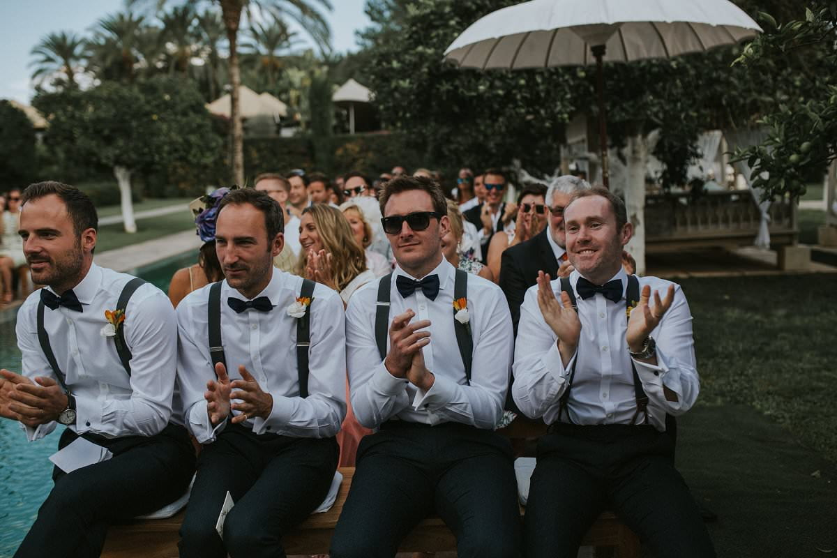stylish groomsmen bowtie braces