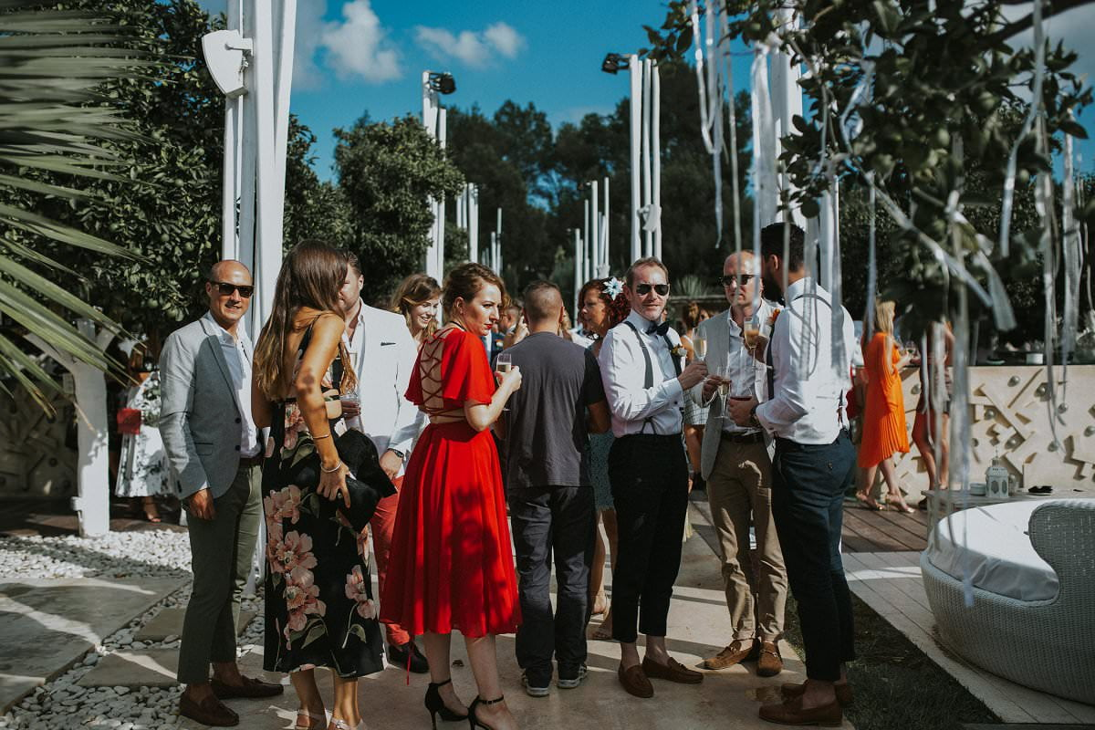 destination wedding drinks reception inspiration