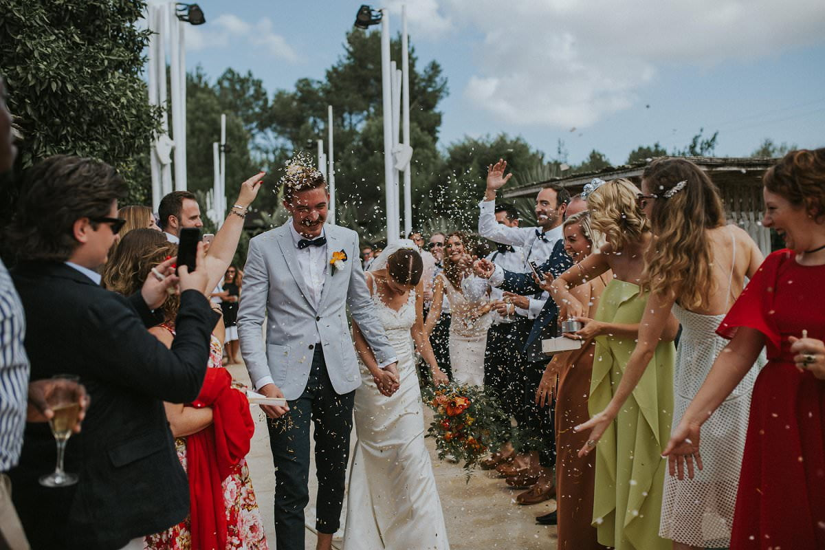 confetti destination wedding