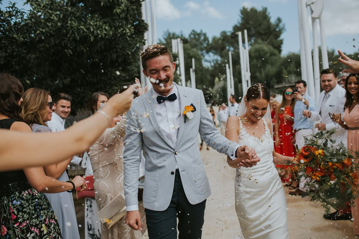 hipster wedding confetti