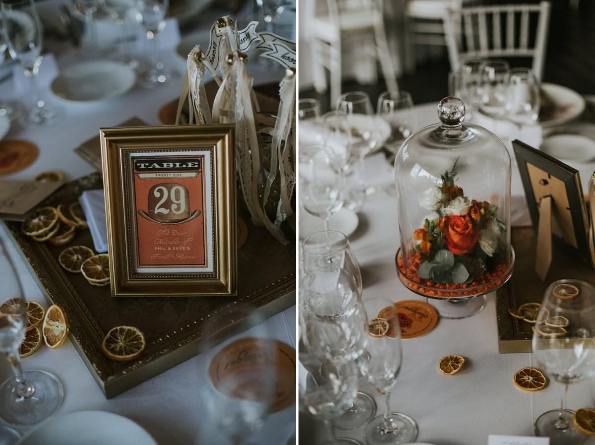 wedding table names inspiration