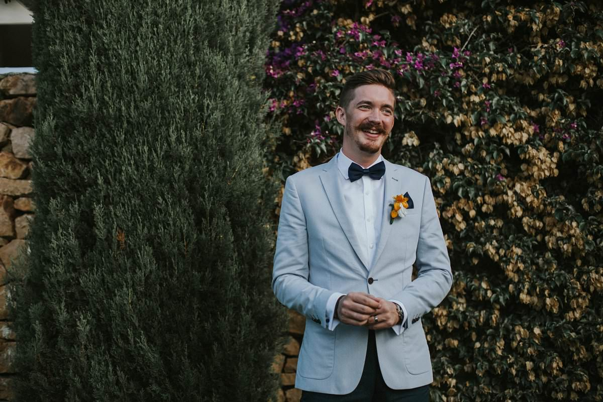 stylish hipster groom