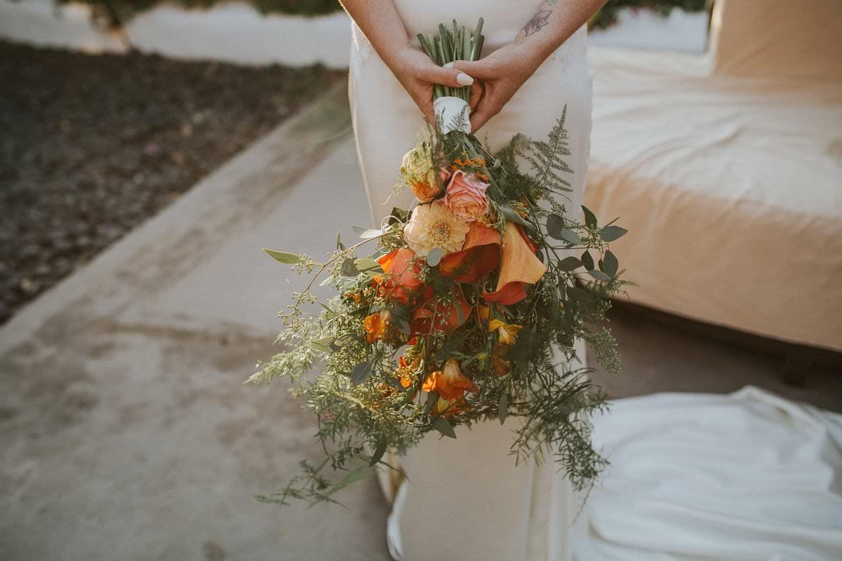destination wedding bride bouquet