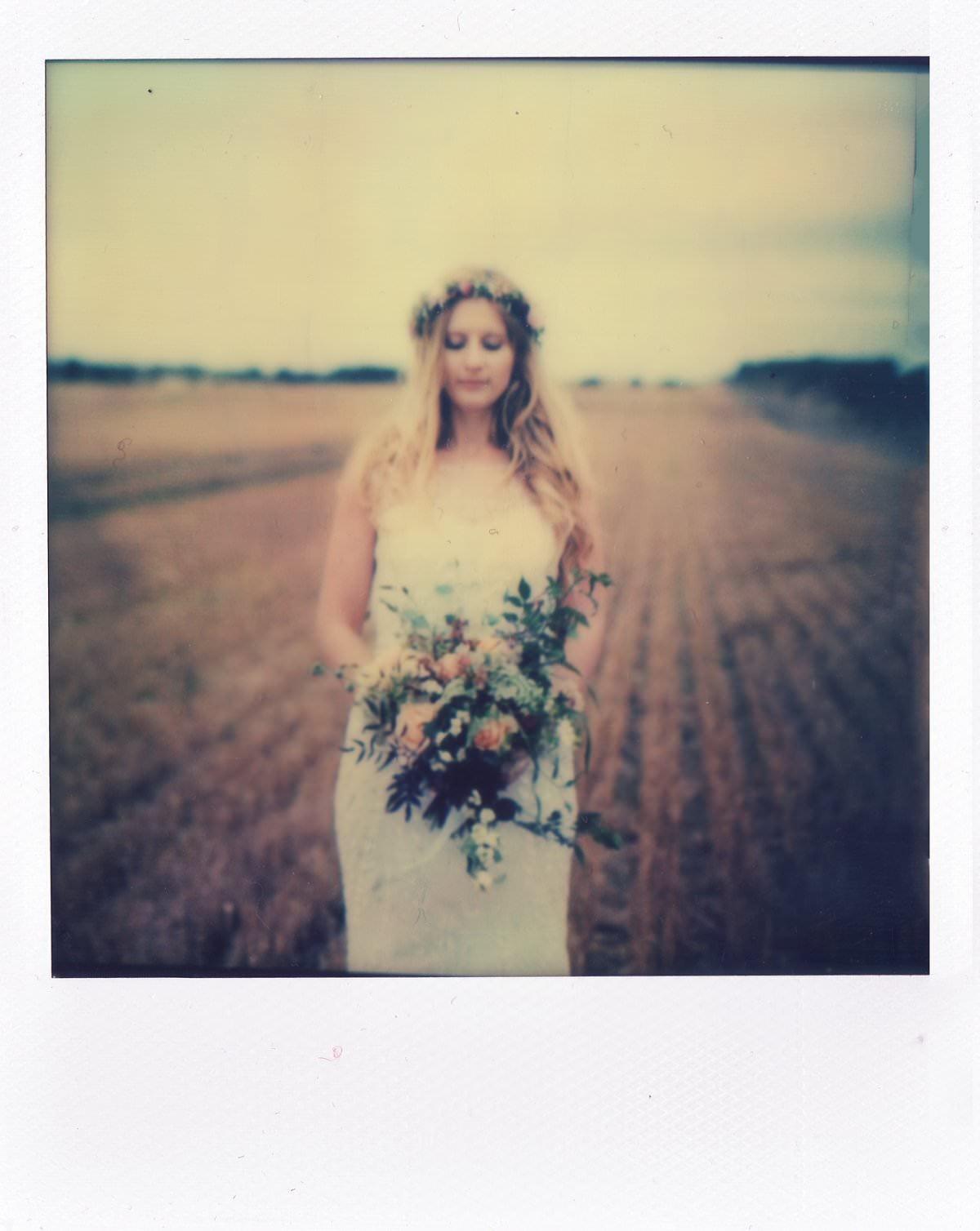 wedding photography polaroid