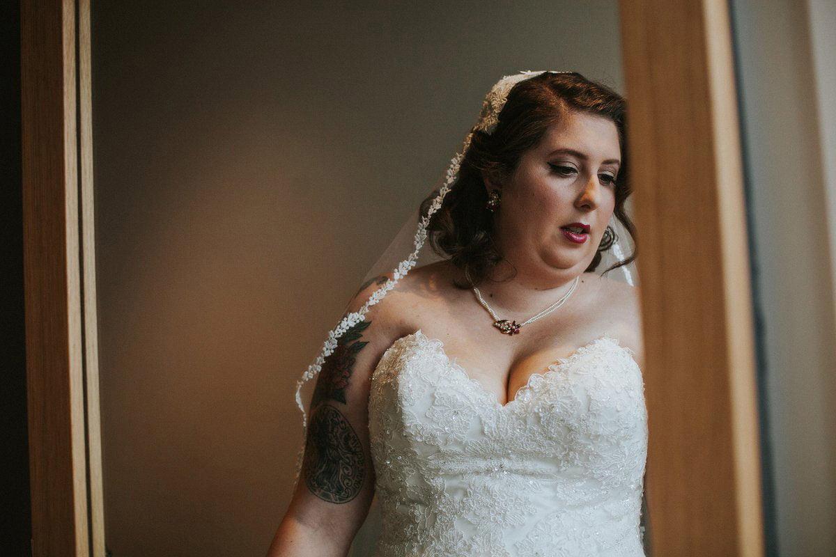 alternative wedding bride