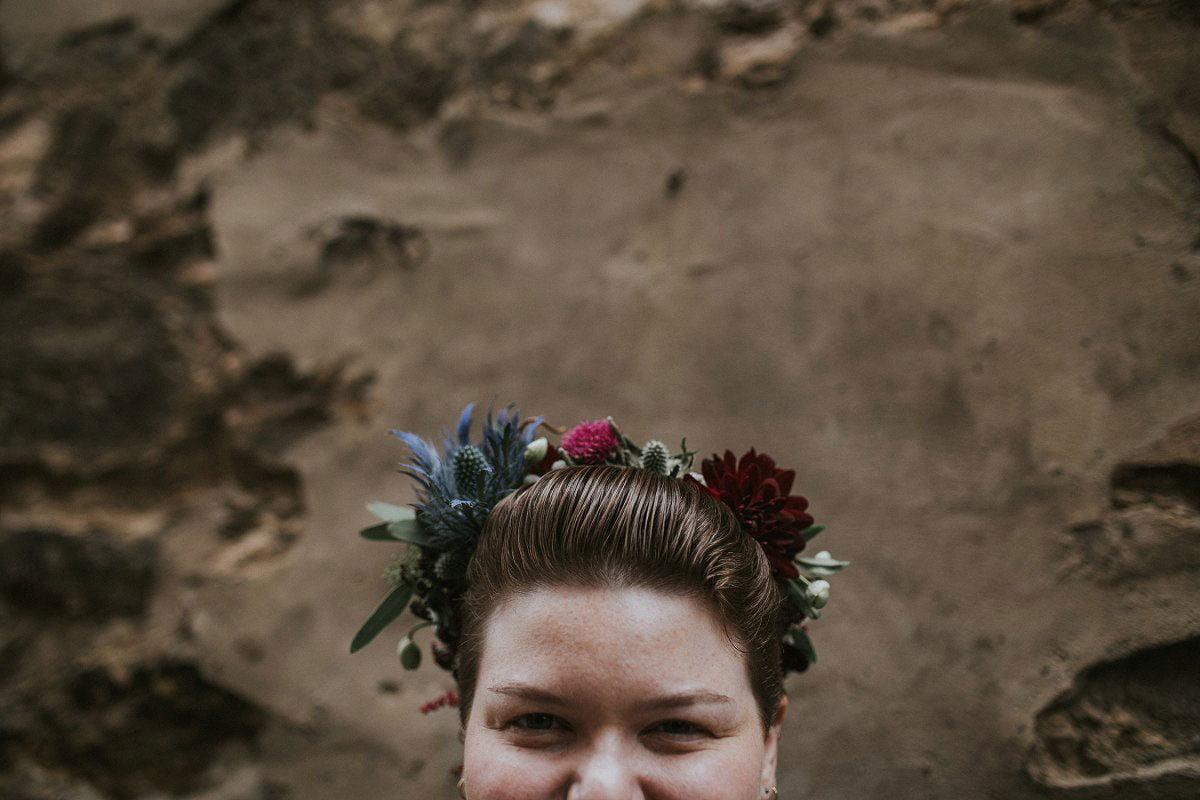 alternative wedding photos glasgow