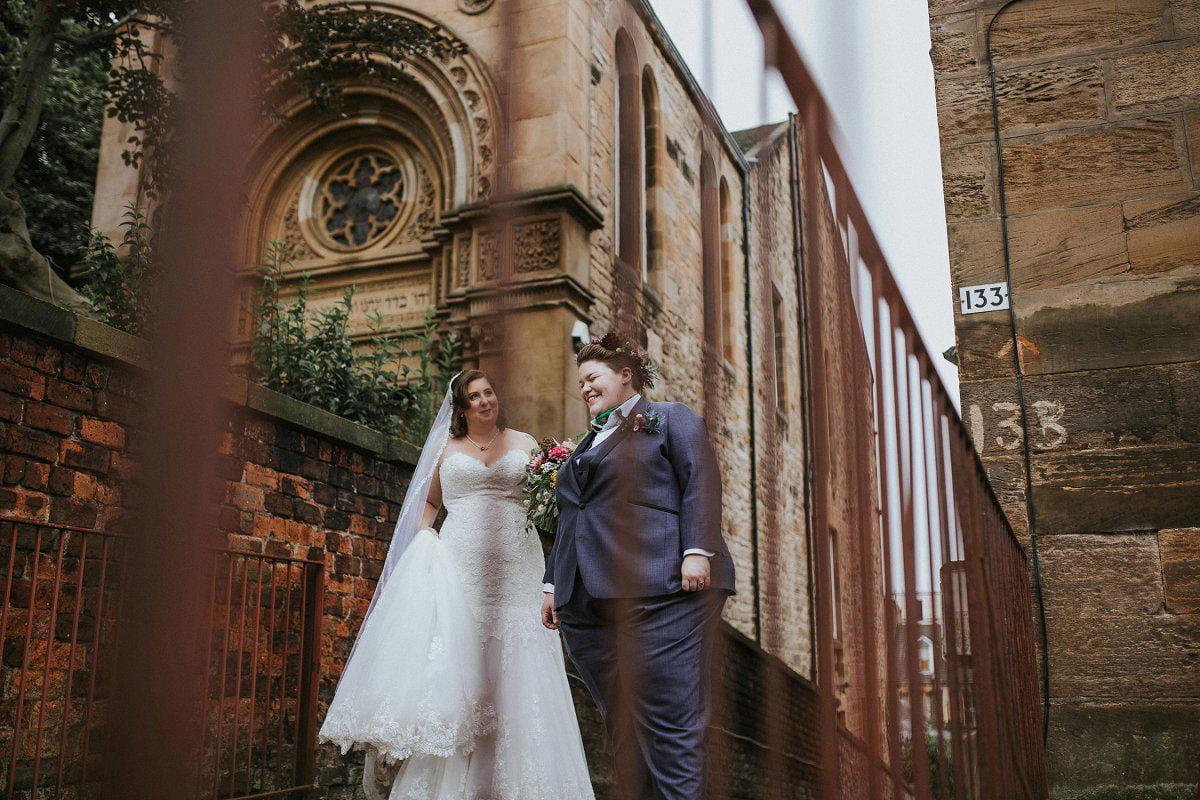 same sex glasgow wedding photographer