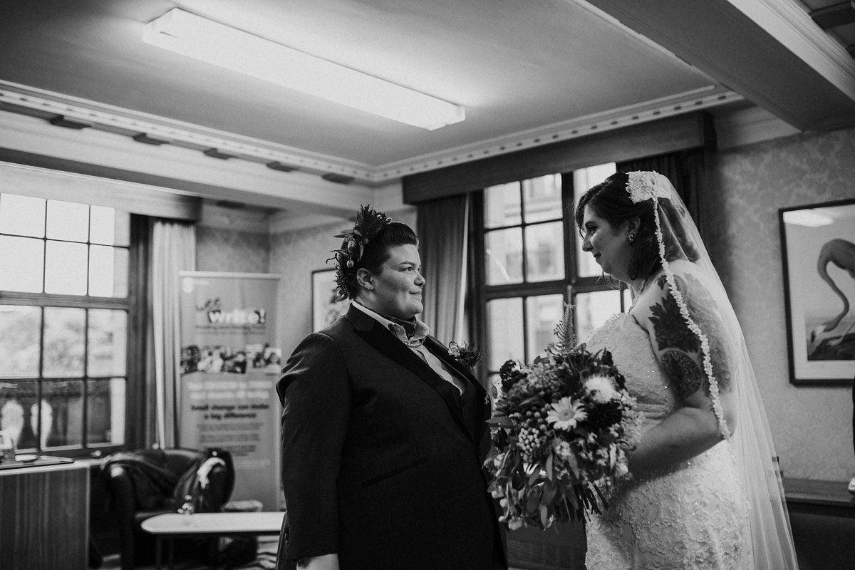 honest glasgow wedding photography