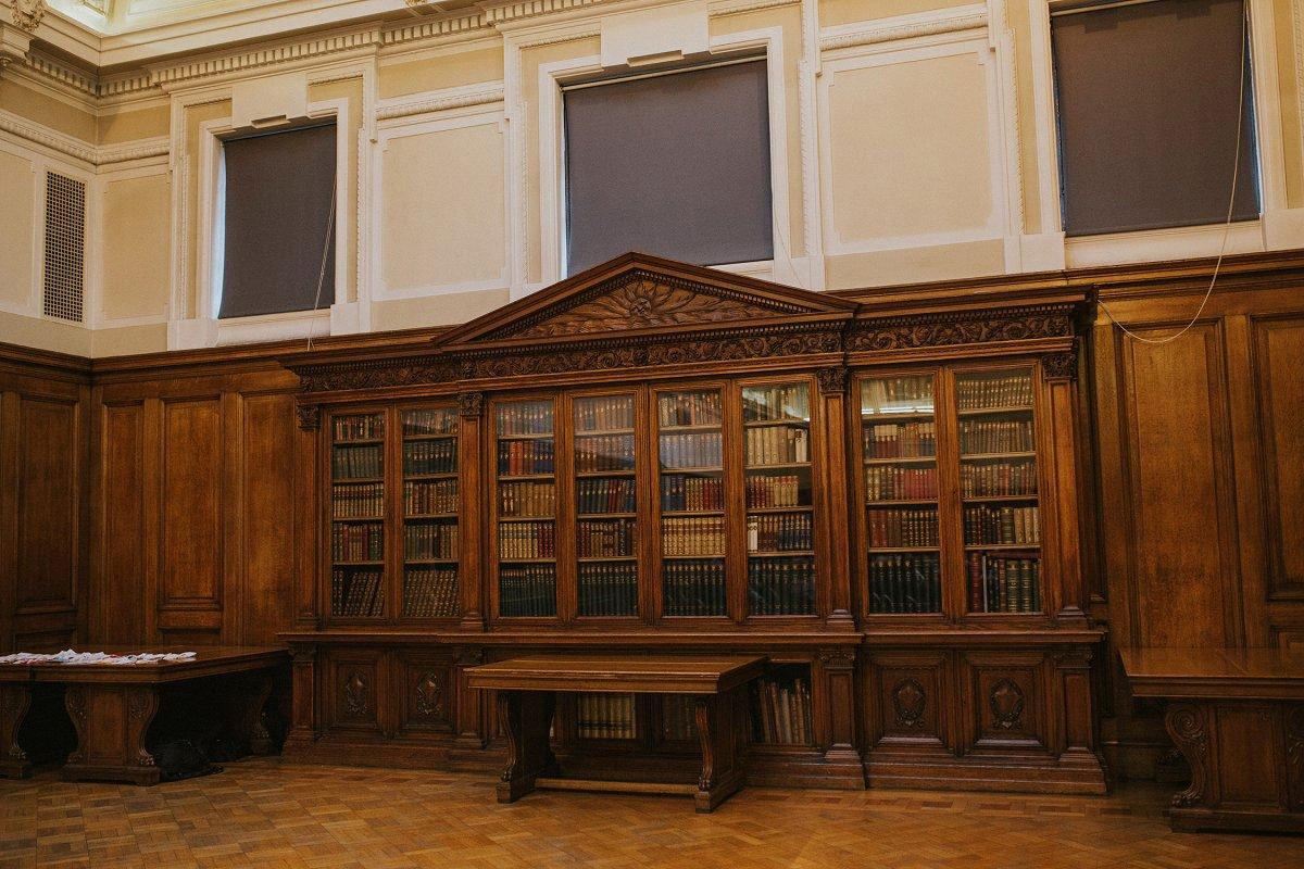 mitchell library wedding ceremony room