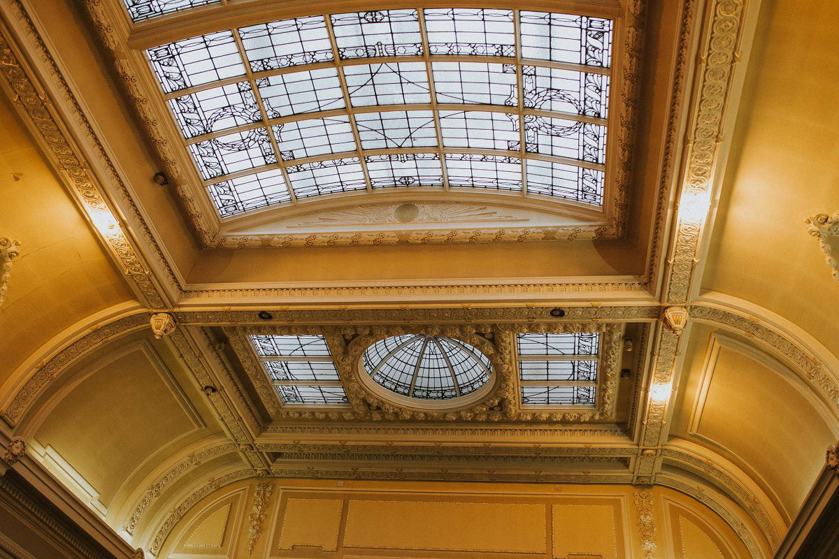 mitchell library ceiling