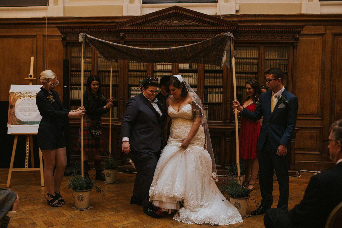 smash glass jewish wedding