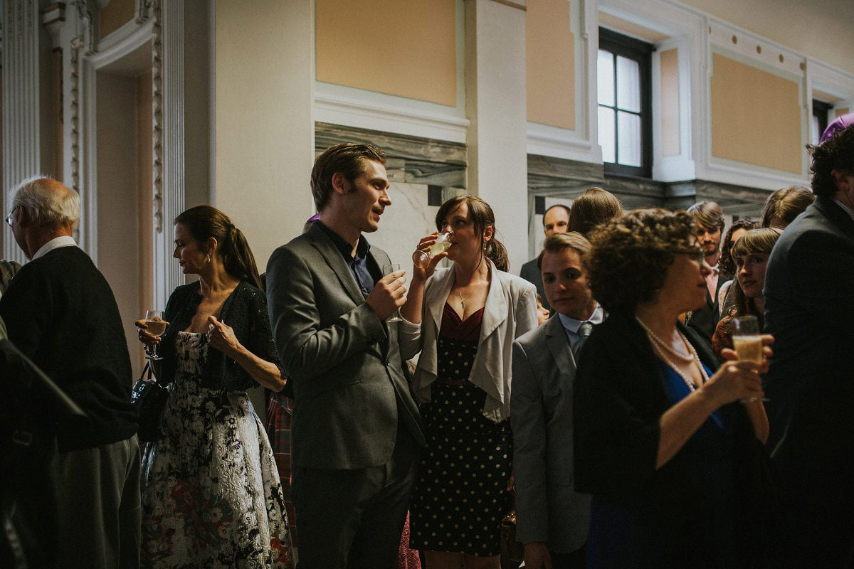 mitchell library drinks reception