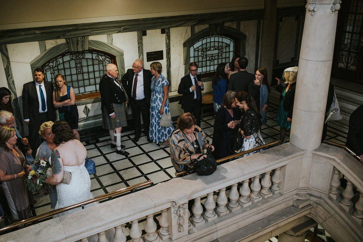 glasgow mitchell library wedding