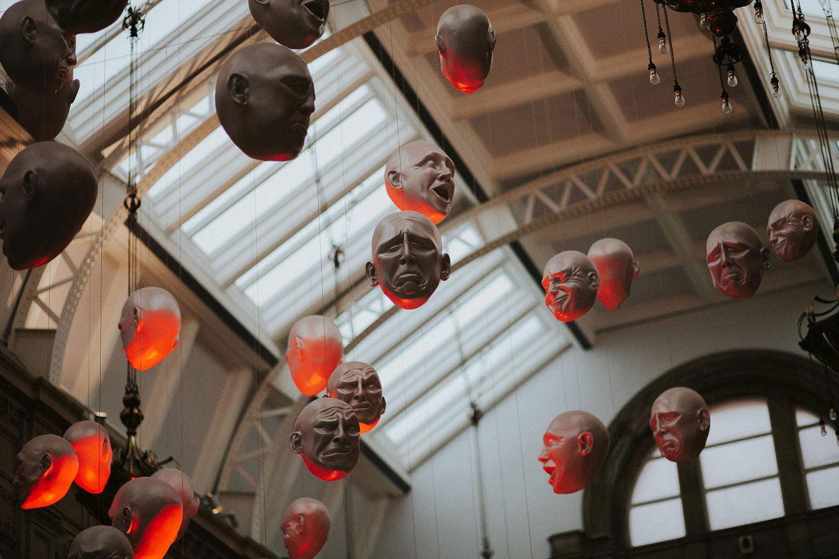 kelvingrove art gallery installation