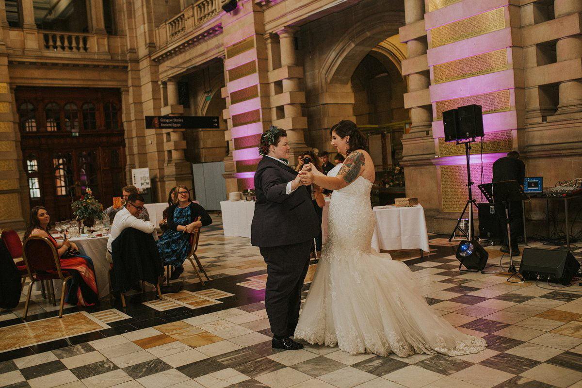 same sex first dance wedding