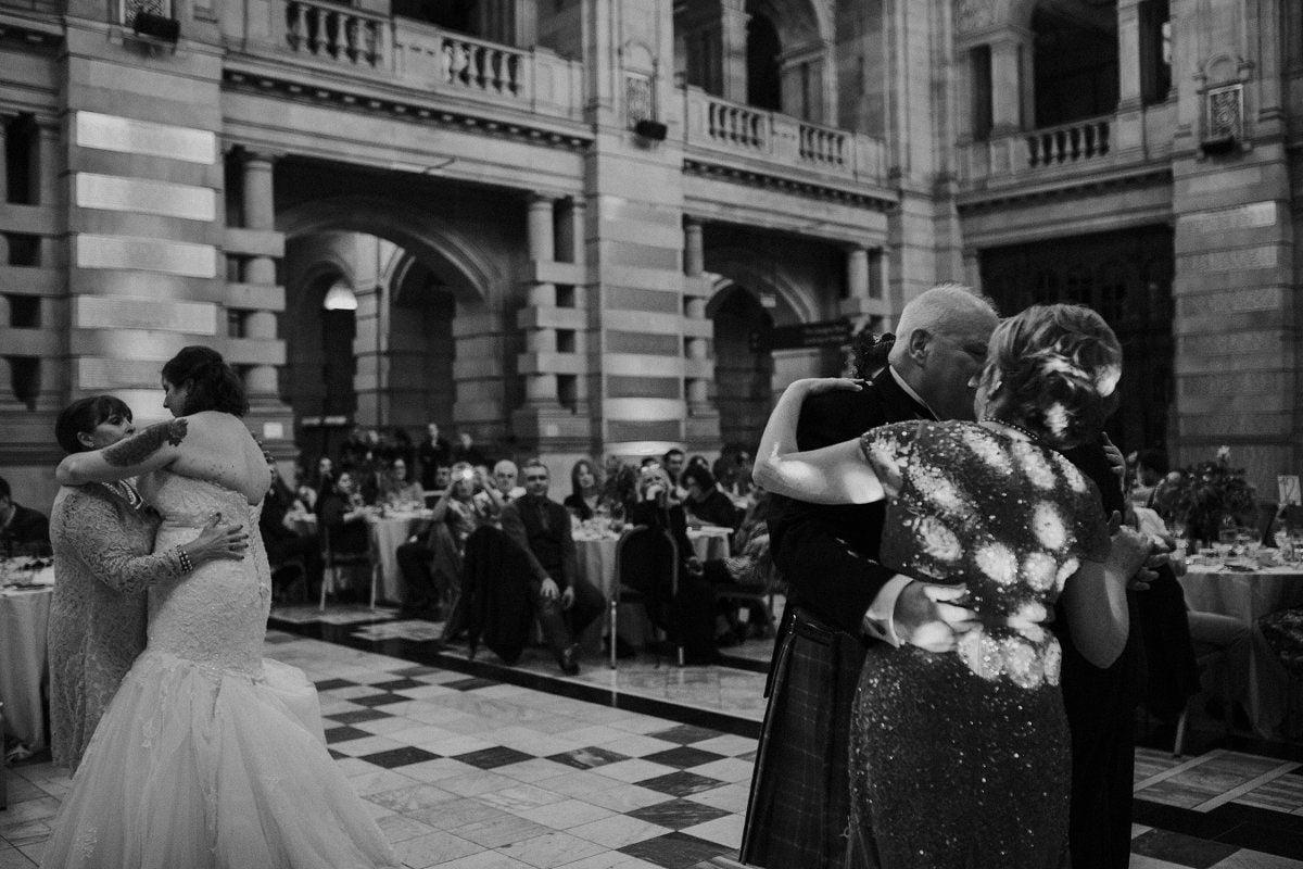 parent dance wedding