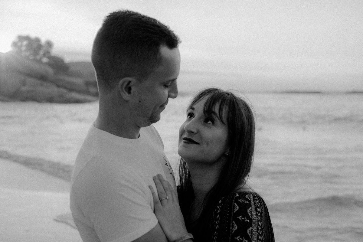 clifton beach wedding photographer