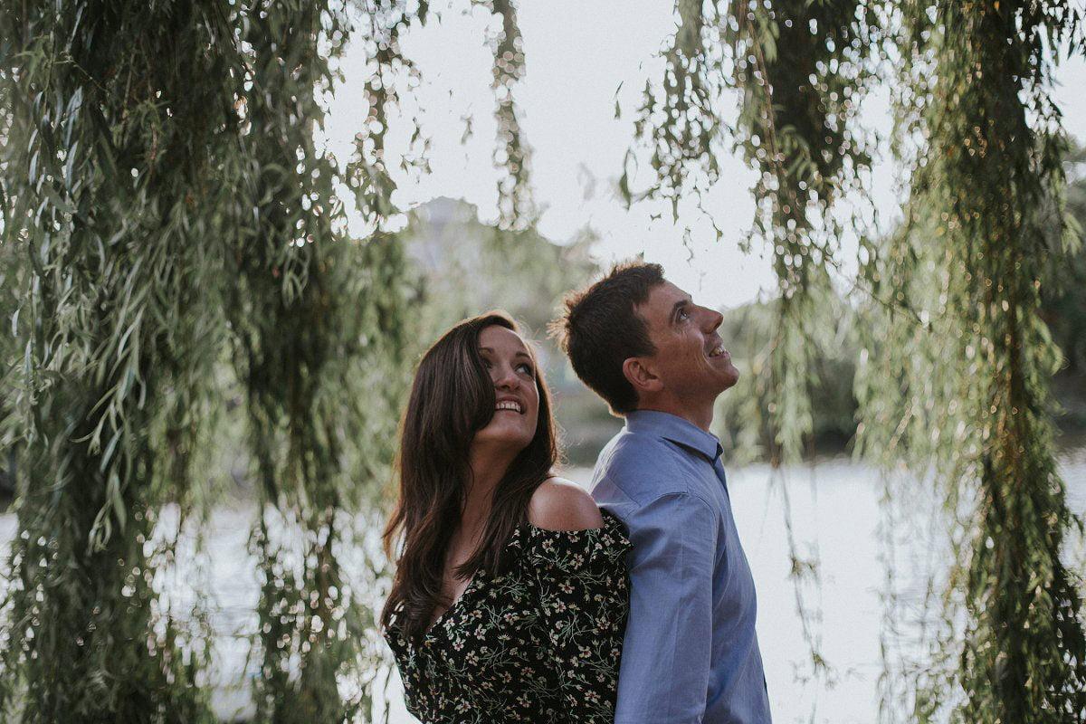 natural light wedding photography