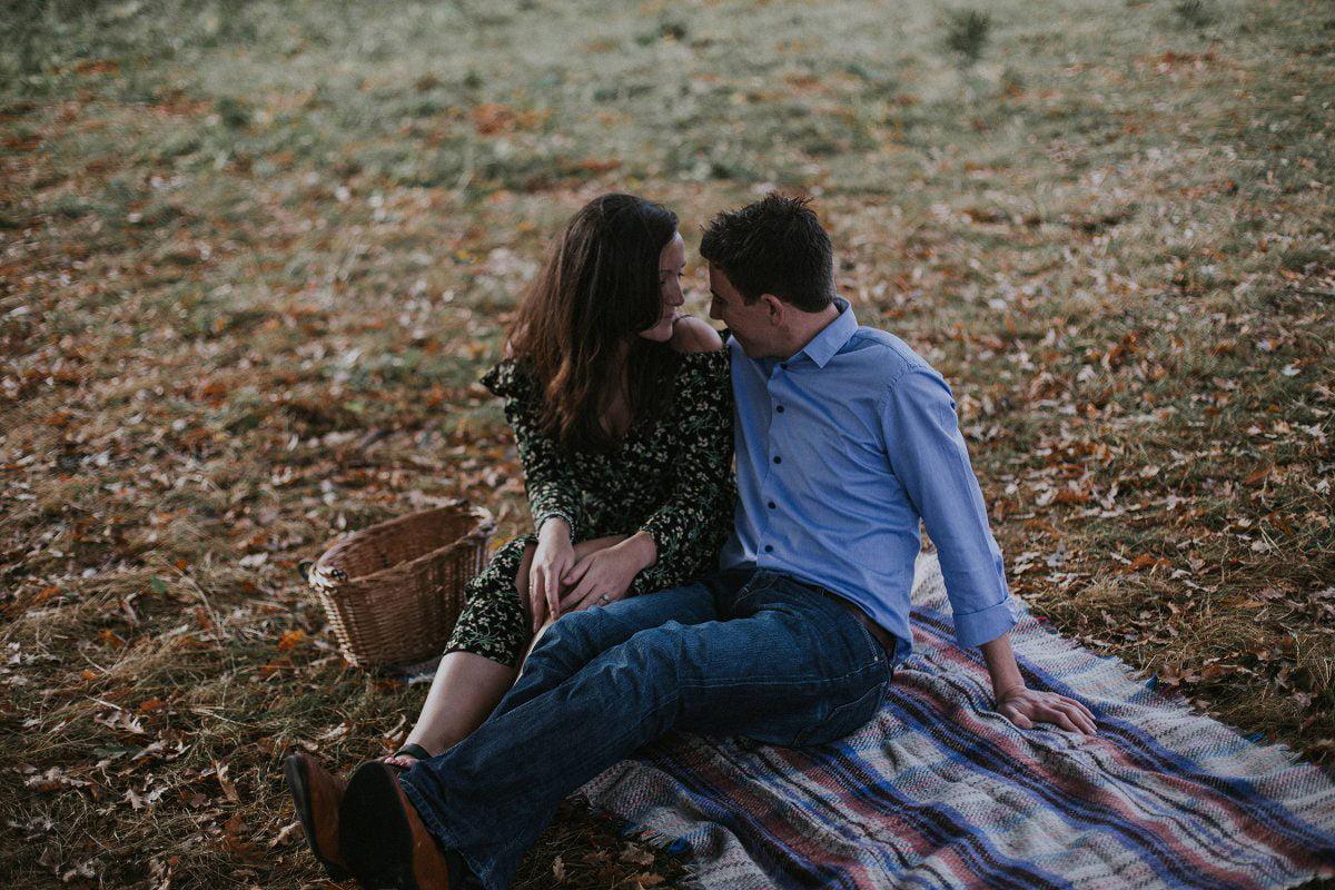 romantic engagement richmond park