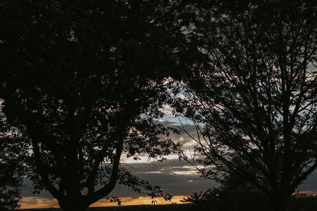richmond london sunset
