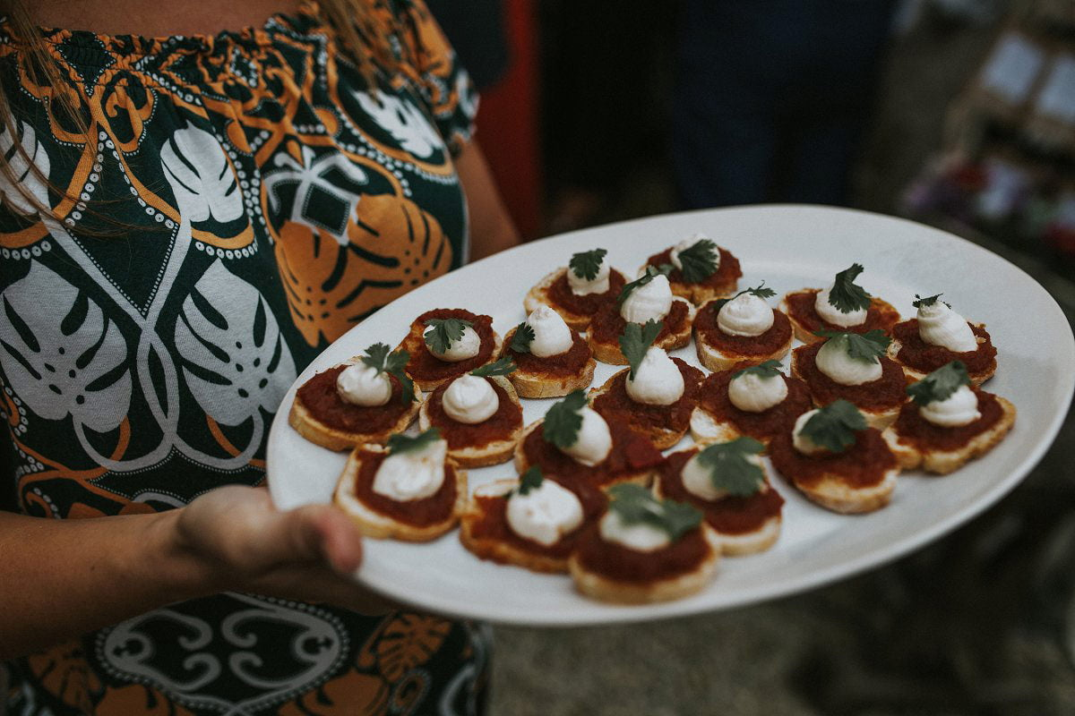 wedding canapes ideas