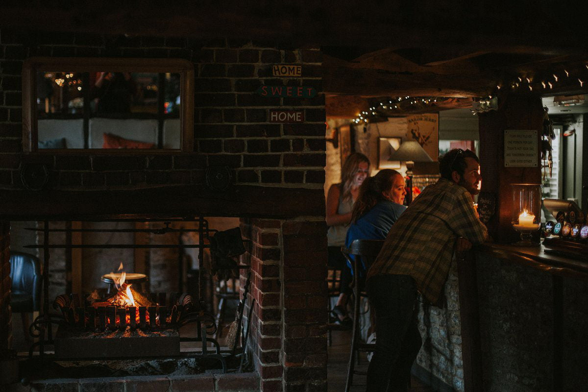 home sweet home wallingford pub wedding