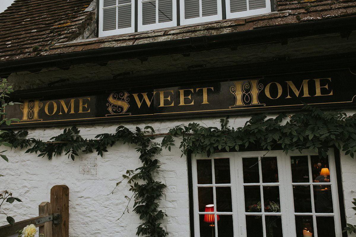home sweet home wedding wallingford