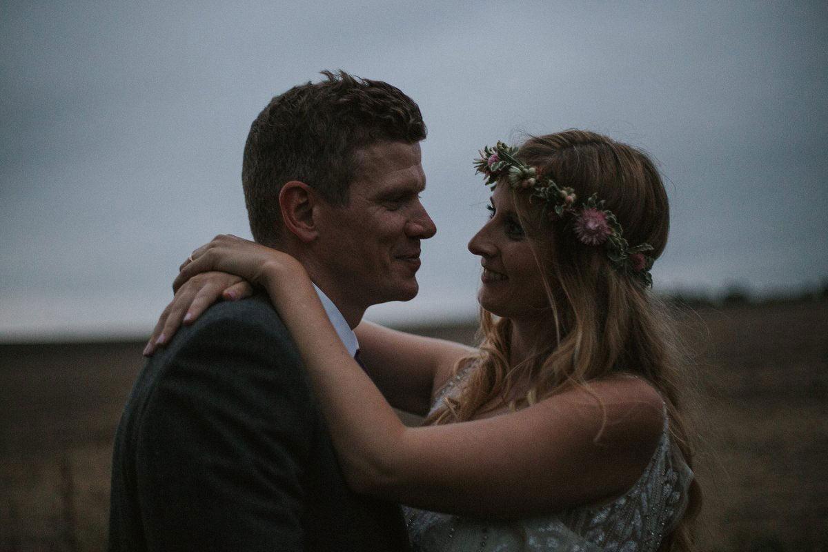 golde hour wedding photos