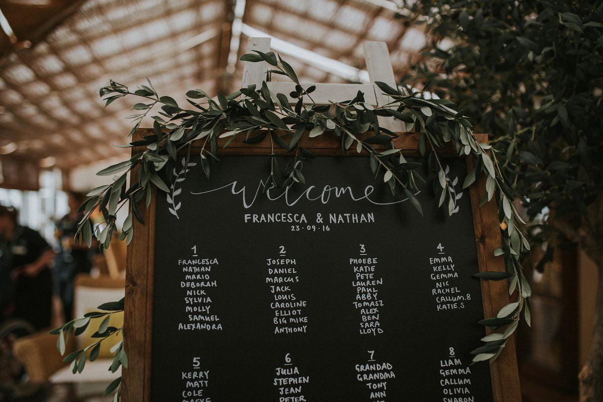 botanical wedding style