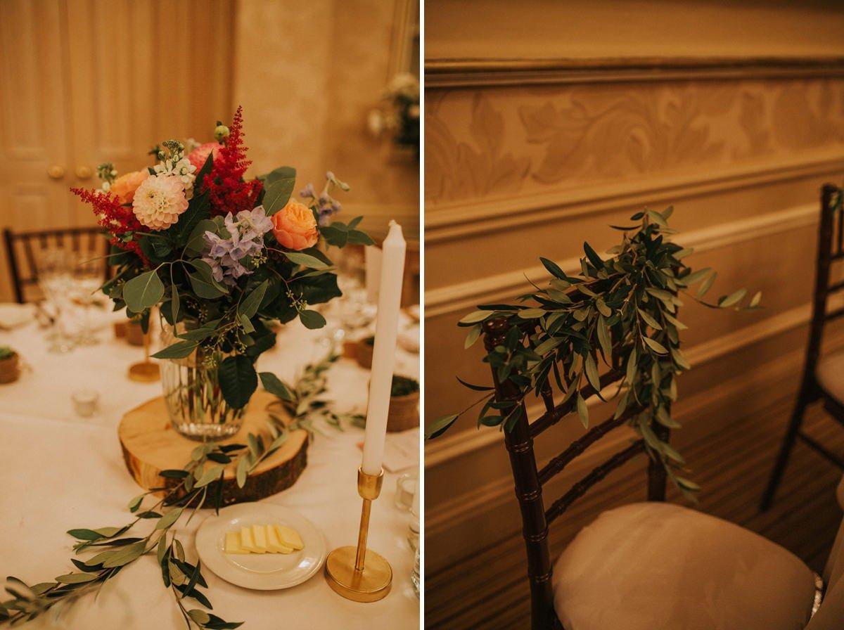 rustic botanical wedding style